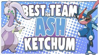 Best Team for Ash Ketchum
