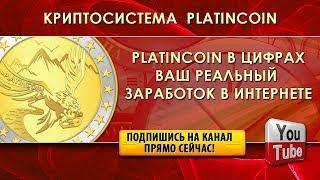 PLATINCOIN  PLC GROUP AG В ЦИФРАХ | ЗАРАБОТОК В ИНТЕРНЕТЕ | ВАШ РЕАЛЬНЫЙ ДОХОД