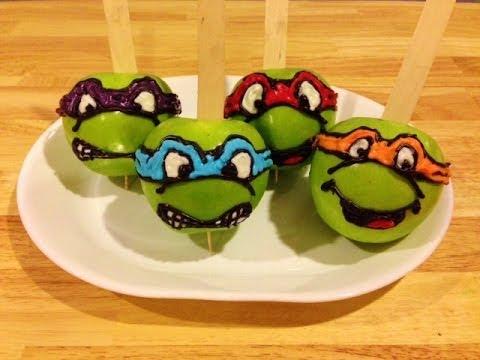Teenage Mutant Ninja Turtle Party Apples