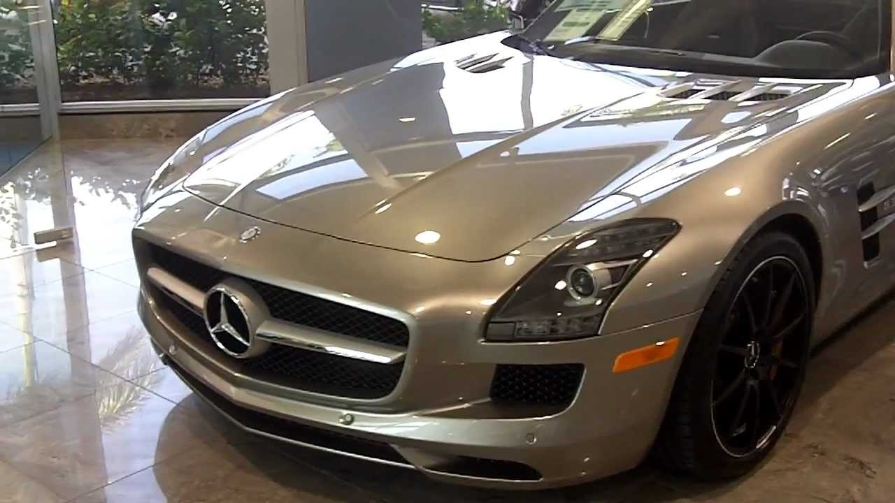 Sls 63 Amg Roadster Alubeam Silver Youtube