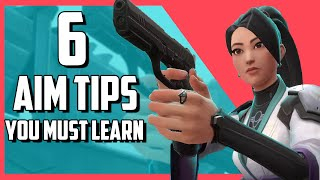 6 Valorant Aim Tips You Must Learn | Valorant Aiming Guide For All Players
