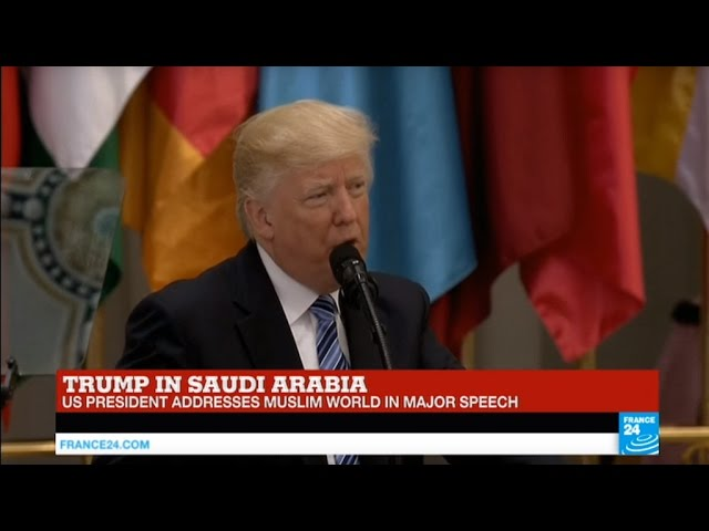 REPLAY - Watch US President Trump's address to the Muslim World in Saudi Arabia
