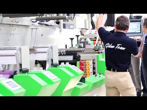 Full live demonstration of Revo technology set on GIDUE printing machine