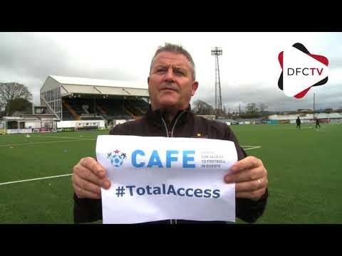 John Gill UEFA Cafe