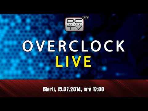 LIVE - Demonstratie OVERCLOCK cu CrazyPC