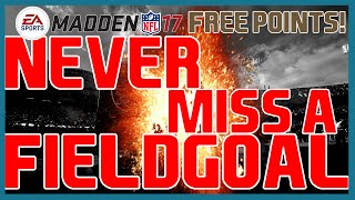 Madden 17: Beginner Tips - How To NEVER Miss A Field Goal! | Field Goal Cheese!