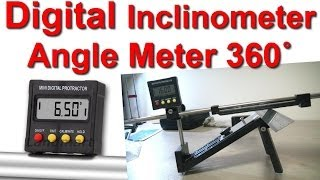 Как выстовить угол заточки? Digital Protractor Inclinometer Angle Meter 360˚ vs Edge Pro