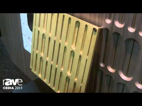 CEDIA 2014: Listen Audio Exhibits Its Modular DIFFUSE Thin-Profile Acoustic Treatment Panels