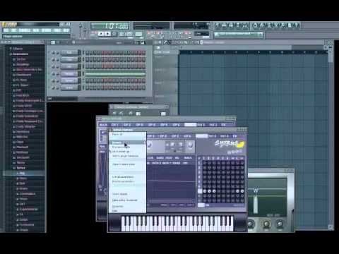 Wobble Bass Tutorial FL Studio 10 Sytrus - YouTube