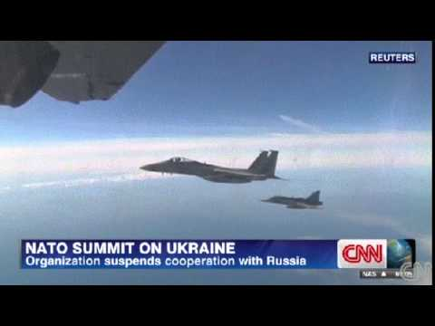 NATO Suspends Cooperation with Moscow