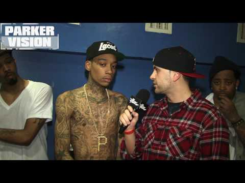 Mr. Peter Parker Presents: Wiz Khalifa interview in Boston Video