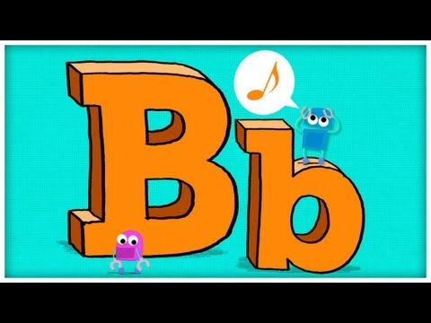 """ABC Song: The Letter B, """"B is For Boogie"""" by StoryBots"""
