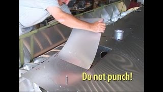 Cutting Access Openings in Your metal Aircraft