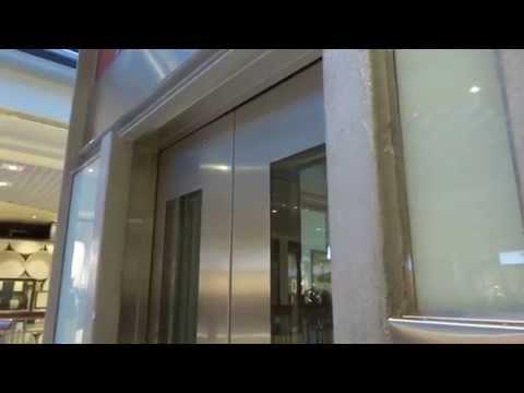 Mitsubishi (Uniheis) Traction Elevator @ Byporten Shopping Center, Oslo, Norway