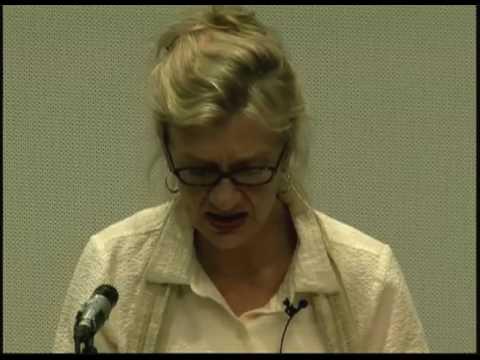 Colgate's Living Writers: Elizabeth Strout 10/22/09