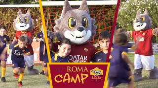 New AS Roma mascot Romolo meets young fans for the first time!