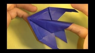 Fold And Origami Angelfish Finger Puppet! By Jeremy Shafer