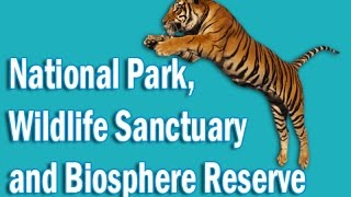 National Park, Wildlife Sanctuary and Biosphere Reserve of India  in Hindi   Static GK