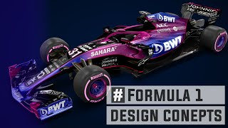 Best F1 2018 Design Concepts