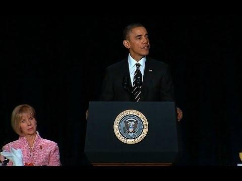 President Obama Speaks at the 2014 National Prayer Breakfast