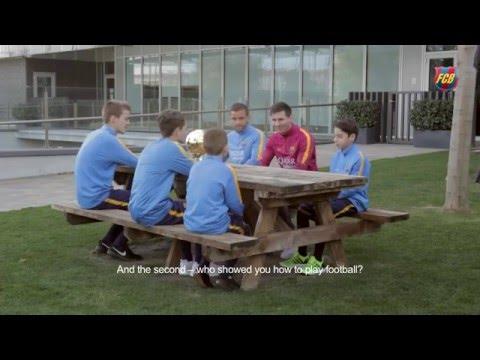 Interview with Leo Messi in La Masia