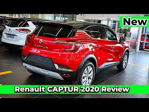 New Renault CAPTUR 2020 Review Interior Exterior