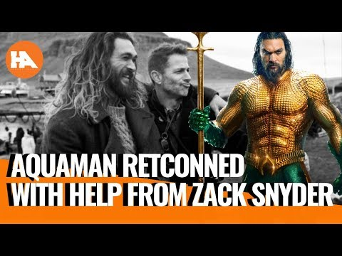 Zack Snyder Helped Retcon Justice League's Aquaman | Supergirl Update | DCEU Talk