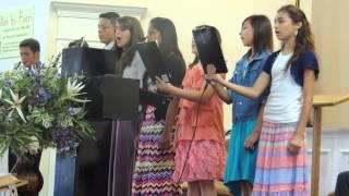 Treasure Coast Baptist Church - Teen Group Singing