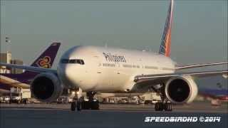 Philippine Airlines Boeing 777-3F6(ER) [RP-C7775] Inaugural Flight to LAX