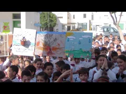 مدرسة أبناء الشهداء بتطوان تحتفل بفوزها باللواء الأخضر ضمن مسابقة المدارس الإيكولوجية