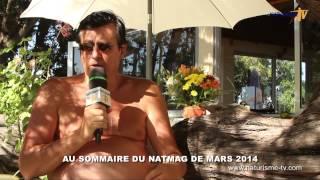 Vidéo Naturisme TV - Natmag 27 - Mars 2014 - La bande-annonce