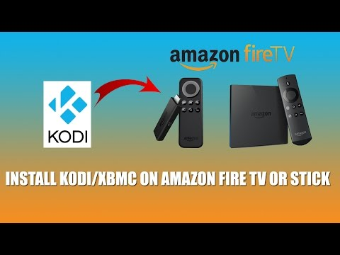 Install Kodi on Amazon Fire TV or Stick
