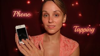 #ASMR 📱Phone Tapping📱 With Gentle Whispering For A Relaxing Sleep Or Power Nap
