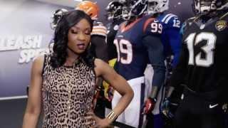 Lola Ogunnaike Hits the Catwalk for Super Bowl XLVIII