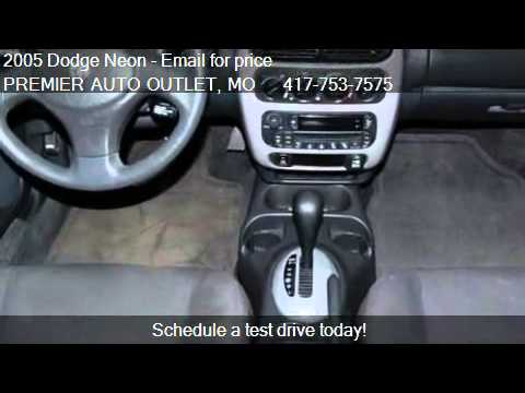 2005 Dodge Neon SXT - for sale in ROGERSVILLE, MO 65742