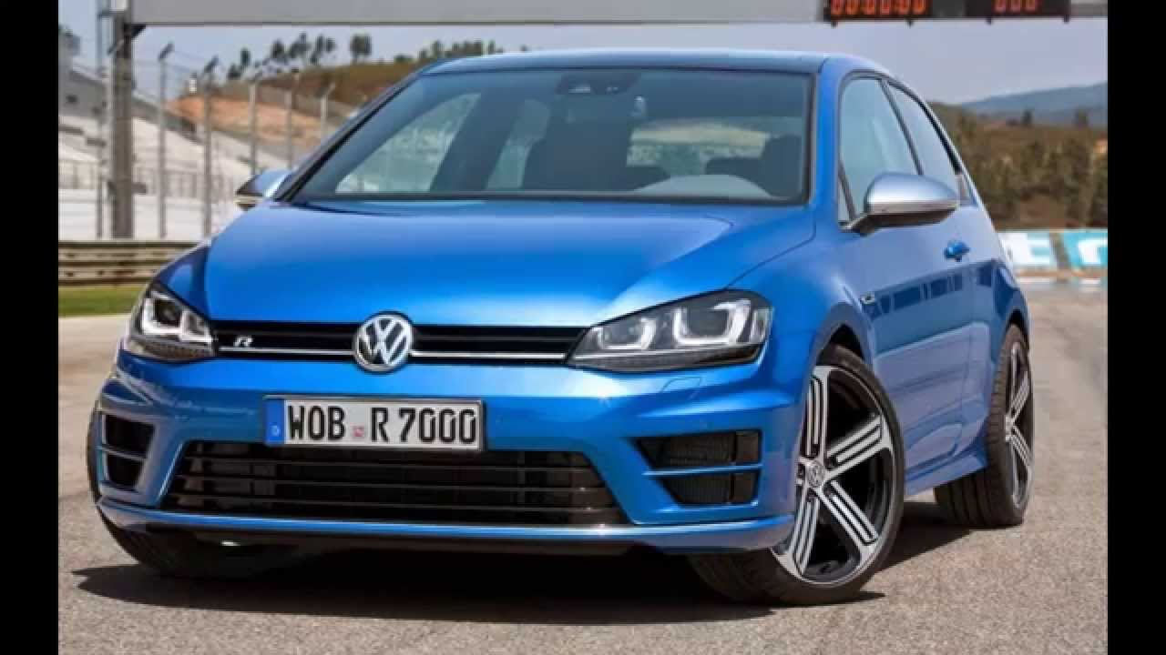 2016 Volkswagen Golf R Manual acceleration - YouTube