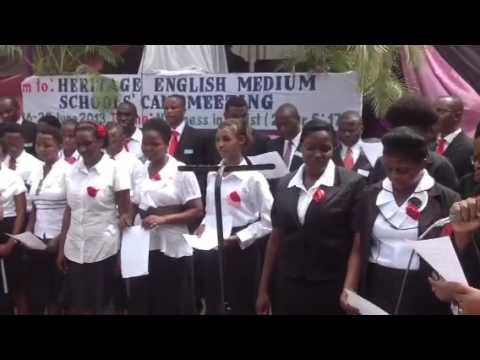Tutaonana by heritage schools staff choirs. Viva comrades - 06/28/2013