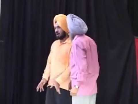 Gurpreet Ghuggi New Punjabi Stage Drama Comedy video