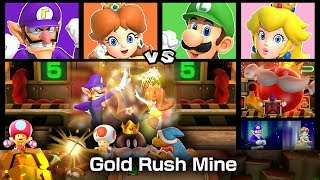 Super Mario Party Partner Party Gold Rush Mine 20 Turns #7