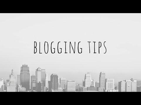The Best Blogging Tips