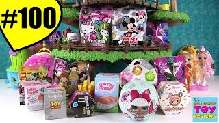 Blind Bag Treehouse #100 Unboxing Num Noms Disney Shopkins LOL Doll   PSToyReviews