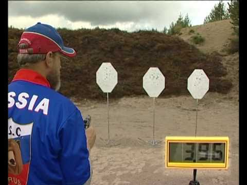 Техника стрельбы из пистолета. Уроки Виталия  Крючина.