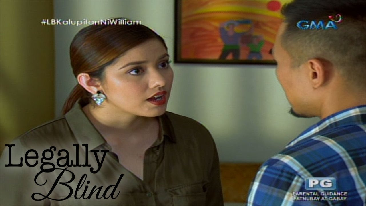 Legally Blind: Paaminin si William