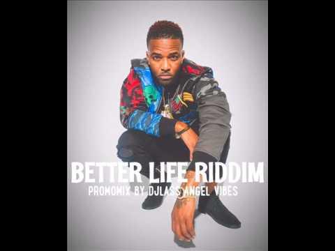 Better Life Riddim Mix (Full) Feat. Vybz Kartel, Konshens, (Cashflow Records) (June Refix 2017)