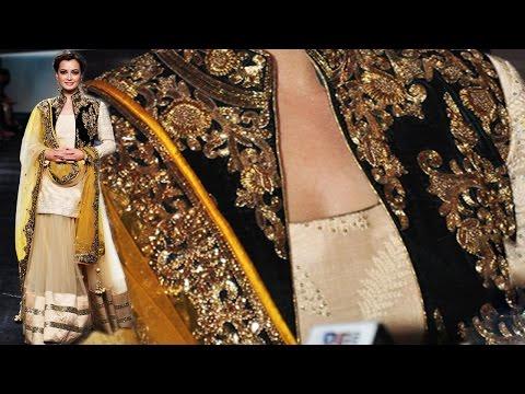Diya Mirza - Bipasha Basu Ethnic Look At Lfw 2014 video