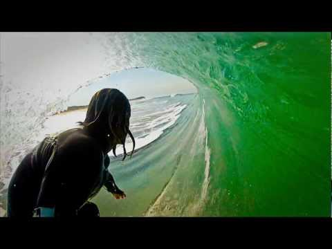 Surfing the Pipeline - GoPro HD