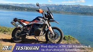 Prvé dojmy: KTM 790 Adventure R z chorvátskych šotolín
