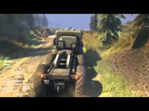 SpinTires gameplay