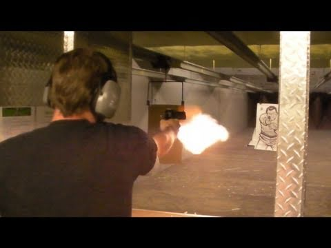 .50 CAL DESERT EAGLE ONE HANDED!!!