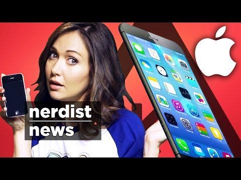 Apple iPHONE 6 Leaks Reveal New Display!? (Nerdist News w/ Jessica Chobot)